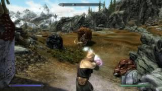 Skyrim: Mystic Barrage Magic