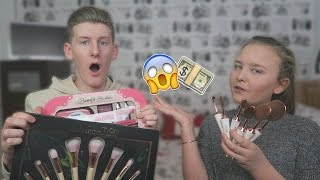 GUESSING THE PRICE OF SISTERS GIRLY PRODUCTS!!