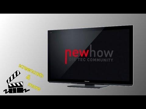 Panasonic Fernseher: Senderdurchlauf durchführen