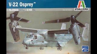 Italeri 1/48 V-22 Osprey (by Trevor)