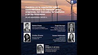 Webinar: Cambios en la regulación sobre Sostenibilidad