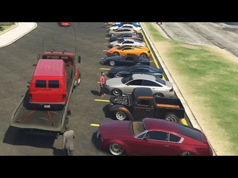 Gta 5 Online Car Meet