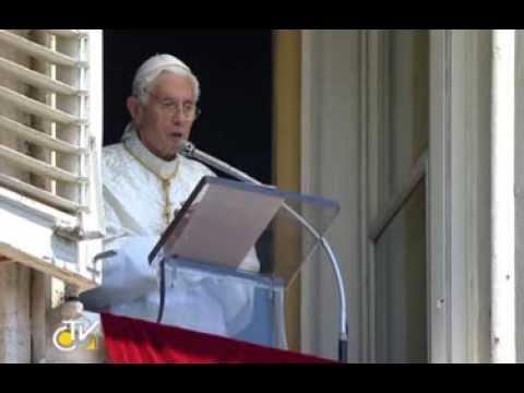 BENEDICTUS XVI - REGINA CAELI