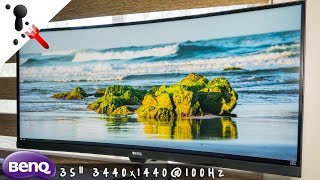 BenQ EX3501R Ultrawide Monitor Review - A great all-rounder