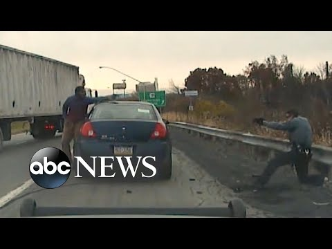 Video Shows Moment Traffic Stop Becomes Near-fatal Gun Battle