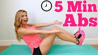 5 Minute Abs Workout by Love Sweat Fitness