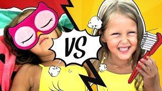 ОЖИДАНИЕ vs РЕАЛЬНОСТЬ! Как проходит день Амельки Карамельки! Видео для детей.
