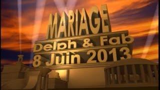 Diapo original mariage d&f (disney-dessin animé fait maison-photos-lipdub) 1/2