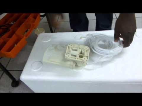 Poynting XPOL 0001 test bij -40 gr Celcius