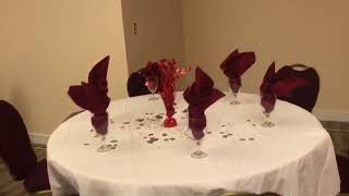 The Mantra Victoria- Banquet Hall party setup