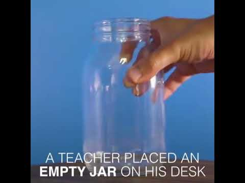 This Jar Represents to your Life