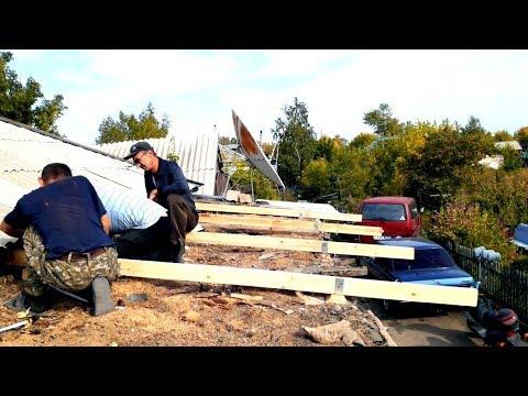 Vlog:Купили ингалятор.Перекрываем крышу.Новая полка.