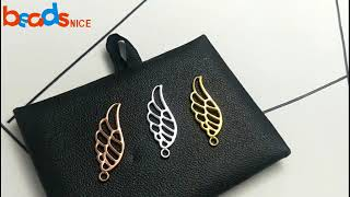 Mens Necklace Style   Making A Metal Silver Golden Wings Pendant For Boys At Home