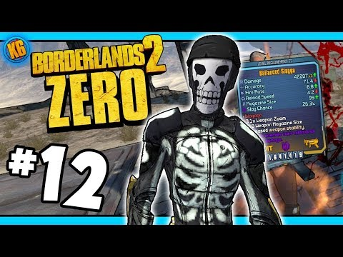 OLD COOT GIBBERISH?  - Road to Ultimate Zer0 | Day #12 [Borderlands 2]