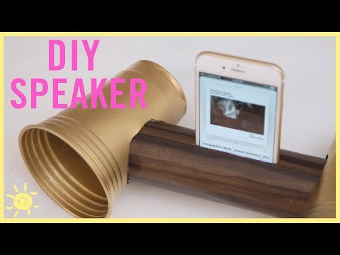 DIY | How to Make a REAL Speaker!