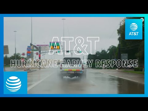 AT&T Helps Hurricane Harvey Victims-YoutubeVideoText