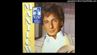 Barry Manilow - I'm Your Man (1985)