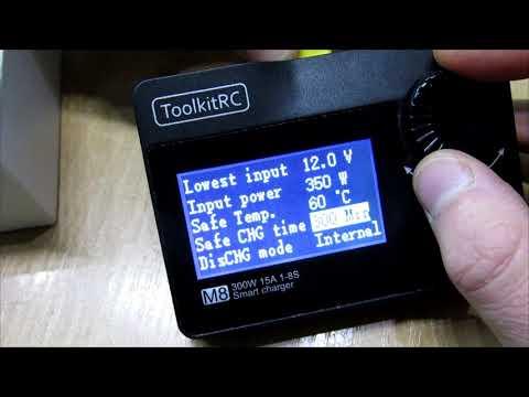 ToolkitRC charger review (rus) - обзор зарядного устройства