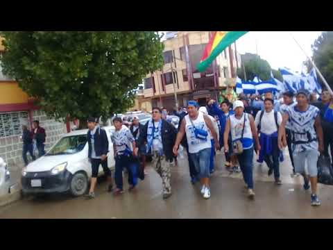 """CARAVANA 2018 SAN JOSE Vs Nacional (Ecuador)"" Barra: La Temible • Club: San José"