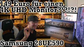 4K UHD 28 Zoll Monitor von Samsung für 149 euro!!!! | Samsung U28E590D
