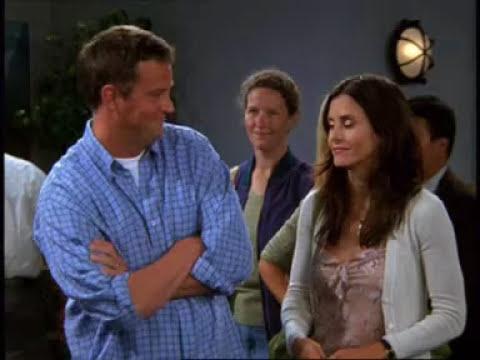 Přátelé: Vystřižená scéna z letiště