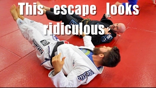 Ugly BJJ Mount Escape that Actually Works (w/Coaching)