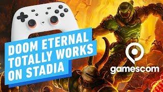 Doom Eterrnal on Stadia: Hands-on Impression - Gamescom 2019