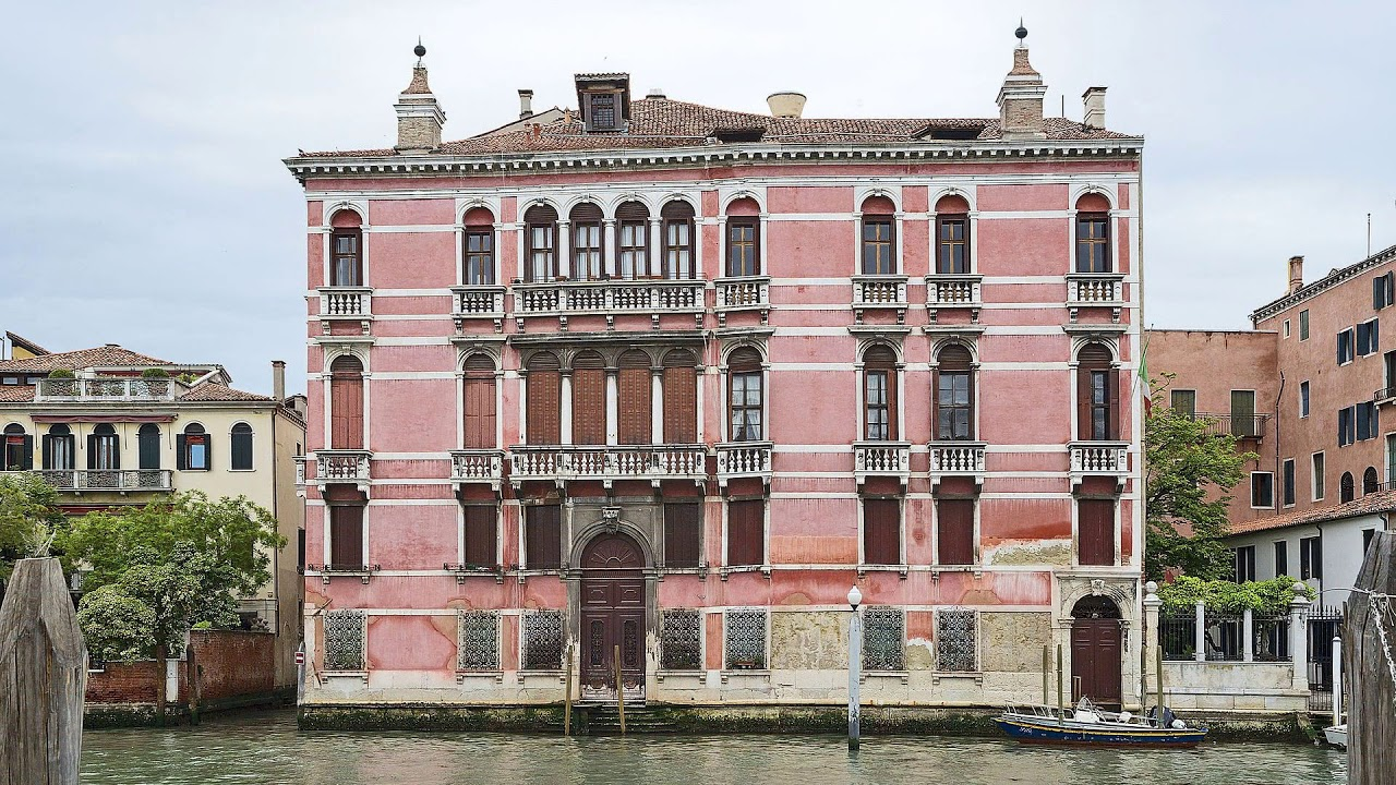 palace, ca' rezzonico, italy, venice