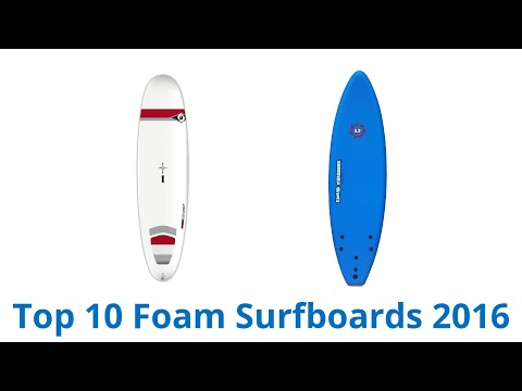 10 Best Foam Surfboards 2016