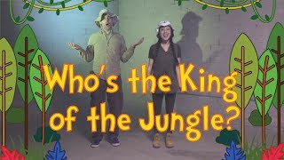 King of the Jungle   Dance-A-Long with Lyrics   Kids Worship