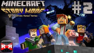 Minecraft: Story Mode Ep. 1: The Order of the Stone - iOS / Android - Walkthrough Gameplay Part 2