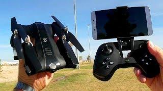XIANGYU XY017HW 720p HD FPV Camera Drone Flight Test Review