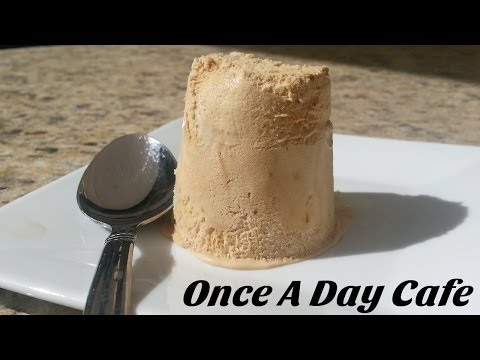 Video Coffee Ice Cream - No Churn - Without Ice Cream Machine - Once A Day Cafe