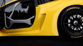 AUTOart Lamborghini Hurcan GT3 Presentation
