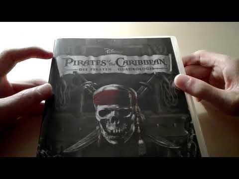 Fluch der Karibik 1-4 DVD Unboxing
