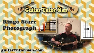 Photograph - Ringo Starr - Acoustic Guitar Lesson