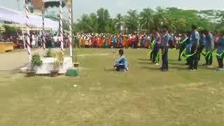 Saikat Govt.college  Rover Scout Display