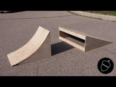 How to Build BMX Ramps!