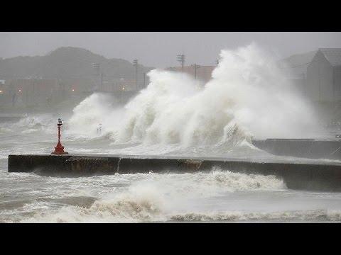Ιαπωνία: Ο τυφώνας Μίντουλε έπληξε και το Τόκιο
