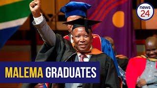 WATCH LIVE: Julius Malema graduates