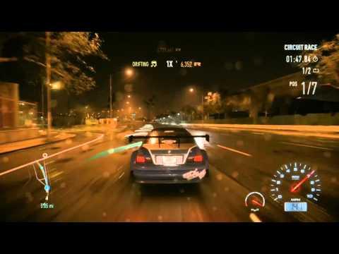 Nfs Carbon Upgradeable Bmw M3 Gtr E46 Race Neon Video