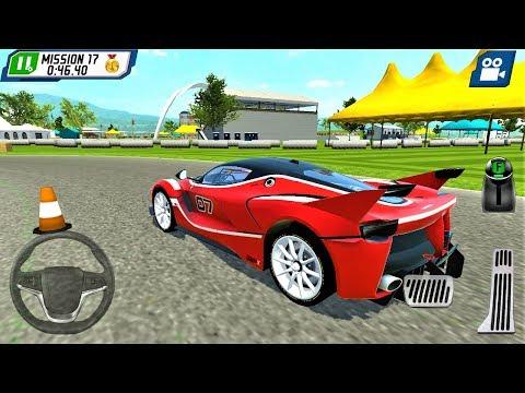 Kırmızı Yarış Arabası Park Etme Oyunu | Parking Masters Supercar Driver - Android Gameplay