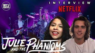 HeyUGuys | Charlie Gillespie & Madison Reyes on Netflix's new High School musical drama Julie and the Phantoms