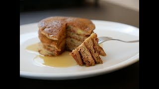Fluffy Buckwheat Pancakes   Gluten-free & Vegan   Easy Breakfast Recipe  