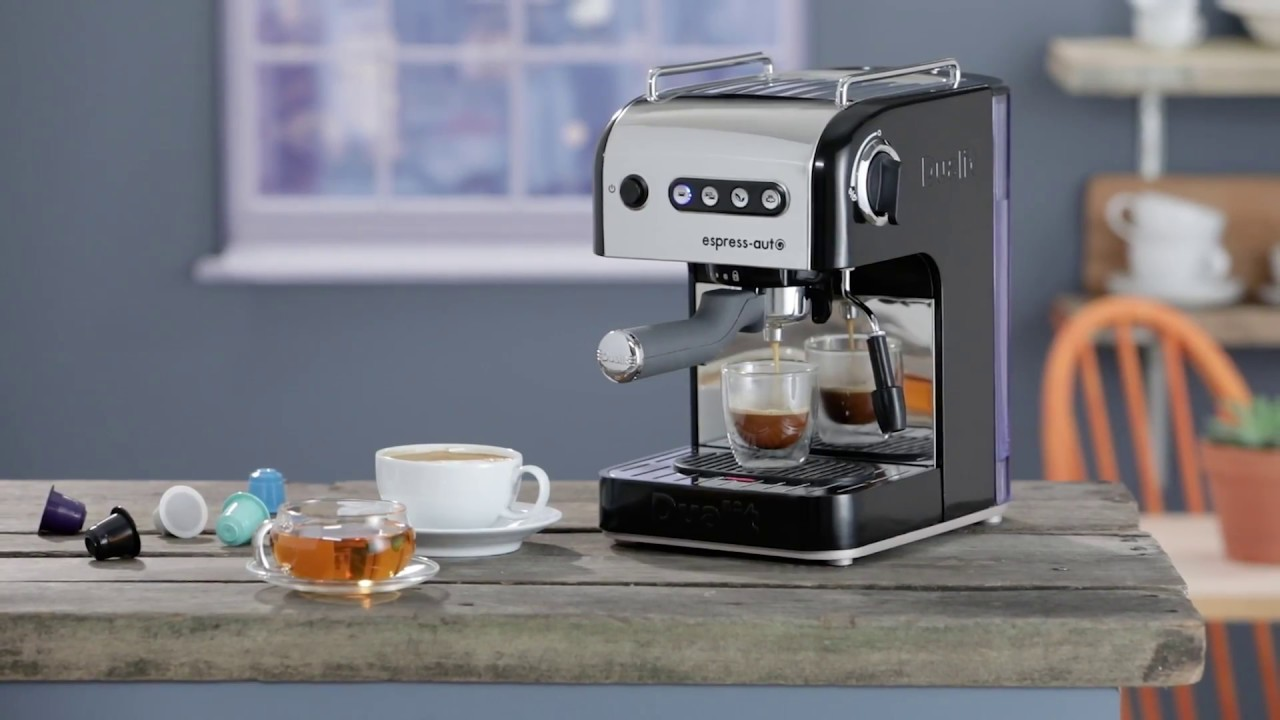 Dualit Espress Auto Coffee Tea Machine