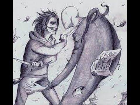 slenderman vs jeff the killer batallas legendarias rap acelerado