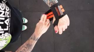 How to put on Titan Wrist Wraps by LiftingLarge.com