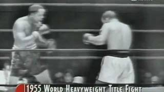 Rocky Marciano vs Archie Moore (All Rounds)