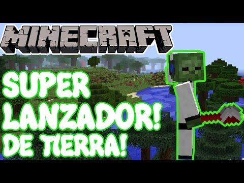 Minecraft 1.10.2 MOD SUPER LANZADOR DE TIERRA! Dirt Flinger Mod Español!