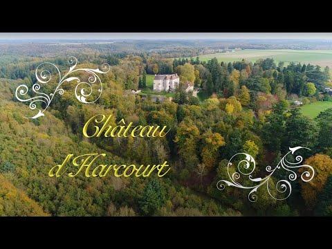 Dron'Eure: Vues aériennes du Château d'Harcourt (Eure)
